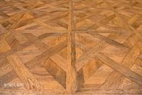 Замковый кварц-виниловый ламинат VINILAM Клеевой замок 216511 - Паркет светлый (Версальский паркет)