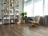 Замковая Кварц-виниловая плитка Alpine Floor Sequoia Секвоя Темная (ECO 6-12) 43 класс